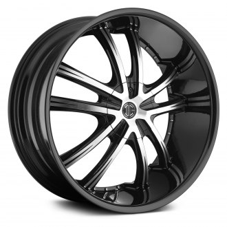 2 CRAVE® - NUMBER 21 Gloss Black with Machined Face