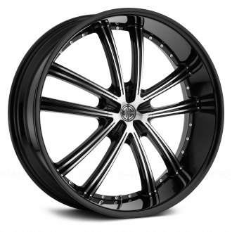 2 CRAVE® - NUMBER 24 Gloss Black with Machined Face