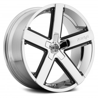 2 CRAVE® - NO.35 Chrome with Black Inserts
