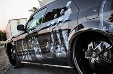 2 CRAVE® - No.18 Gloss Black on Dodge Magnum