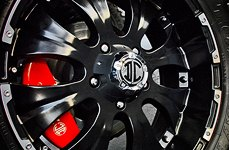 2 CRAVE® - Wheels on Toyota Tundra - Close-Up