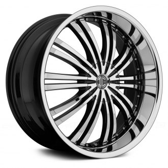 2 CRAVE® - No.1 Gloss Black with Chrome Face and Lip