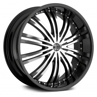 2CRAVE® - No.1 Gloss Black with Machined Face