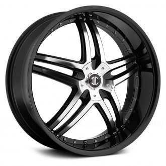 2 CRAVE® - No.17 Gloss Black with Machined Face