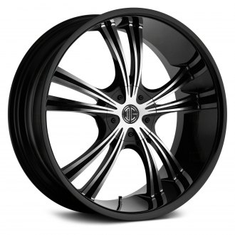 2 CRAVE® - No.2 Gloss Black with Machined Face