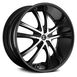 2 CRAVE® - No.24 Gloss Black with Machined Face