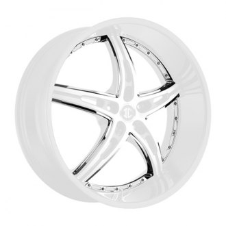 2 CRAVE® - No.25 Chrome Inserts A Style