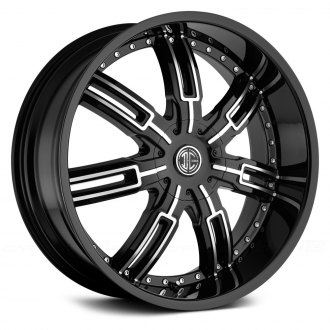 2 CRAVE® - NUMBER 27 Gloss Black with Machined Face