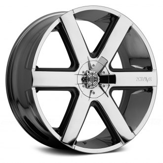 2 CRAVE® - No.31 Chrome with Black Inserts