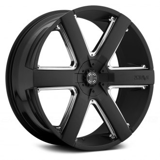 2 CRAVE® - No.31 Satin Black with Chrome Inserts