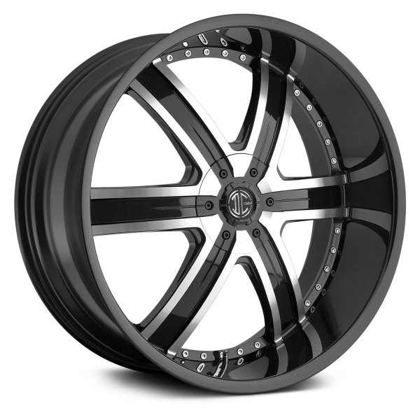 2 CRAVE® - No.4 Gloss Black with Machined Face