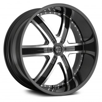 2CRAVE® - No.4 Gloss Black with Machined Face