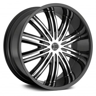 2CRAVE® - No.7 Gloss Black with Machined Face
