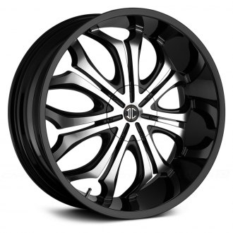 2 CRAVE® - No.8 Gloss Black with Machined Face