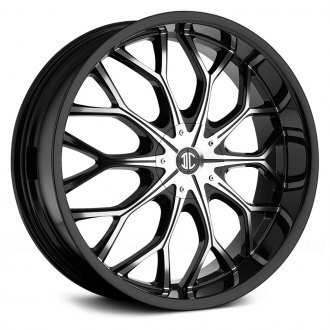 2 CRAVE® - No.9 Gloss Black with Machined Face