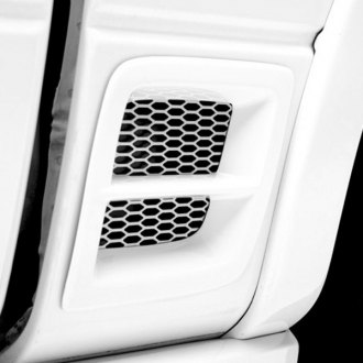 3d Carbon® - Rear Fender Vent with Grille