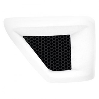 3d Carbon® - Front Fender Vent with Grille without Horizontal Cross Bar (Painted)