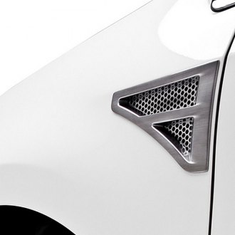3d Carbon® - Fender Vents with Octagon Grille (Painted)