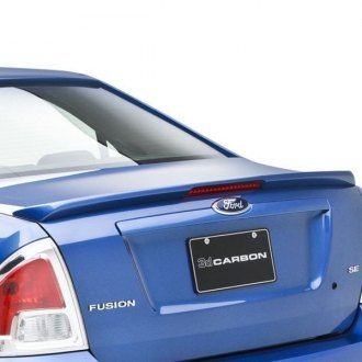 3d Carbon® - Custom Style Rear Lip Spoiler with Light