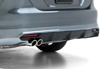 3d Carbon® 691905 - Rear Lower Skirt with Diffuser
