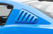 3d Carbon® - Boy Racer Style Window Louvers with Gel Decals