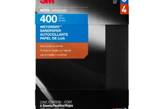 "3M® 03017 - 9"" x 11"" Extra Fine Silicon Carbide WetorDry™ Automotive Sandpaper"
