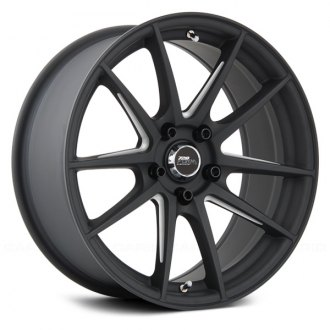 720 FORM® - GTF1 Matte Black with Machined Spokes