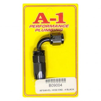 A-1 Racing® - -4 AN 90 Degree Hose End