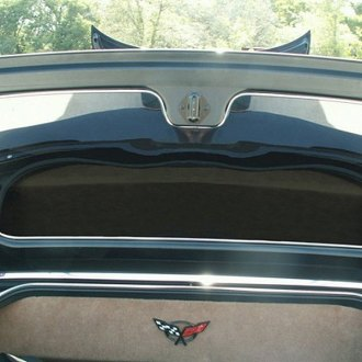 ACC® - Polished Stainless Steel Trunk Lid Panel