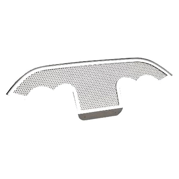 ACC® - Polished / Perforated SS Exhaust Filler Panel for Stock Tips