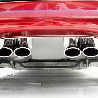 ACC® - Polished SS Exhaust Filler Panel for Borla Stinger Quad Oval Tips