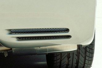 ACC® 032016 - Polished Rear Bumper Vent Perforated Grille