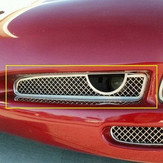 ACC® - Polished Laser Mesh Fog Light Grilles