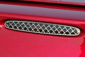 ACC® - Polished Laser Mesh Polished SS 5th Brake Light Cover