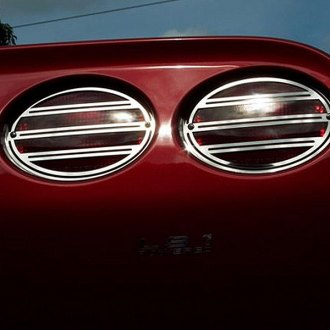 ACC® - Polished SS Slotted Tail Light Covers