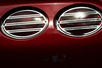 ACC® - Slotted Style Polished Stainless Steel Tail Light Covers