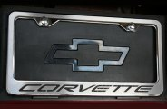 ACC® - Corvette Rear License Plate