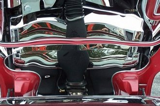 American Car Craft® - Plain Style Polished Hood Panel