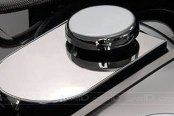 ACC® - Polished SS Master Cylinder Cover with Cap Cover