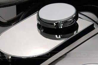 ACC® 033014 - Polished Stainless Steel Master Cylinder Cover with Cap Covers