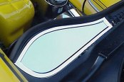 ACC® - Polished Stainless Steel Driver Side Inner Fender Covers