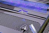 ACC® - Blue Illuminated Perforated SS Low Profile Plenum Cover