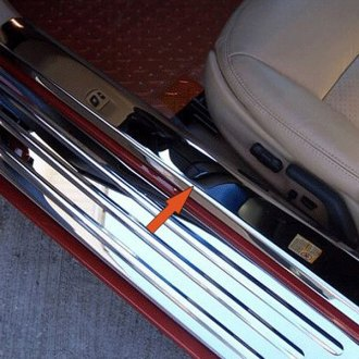 ACC® -  Polished Stainless Inner Door Sills