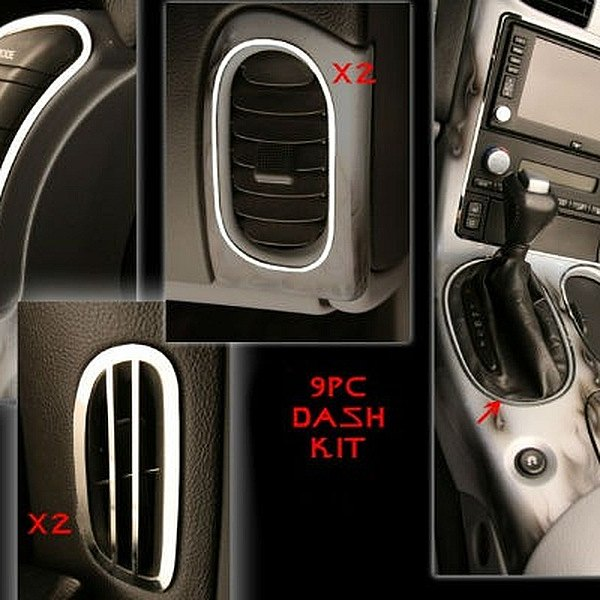American Car Craft® - Polished Dash Kit