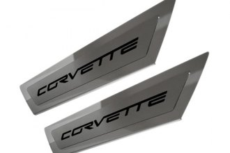 ACC® - Stainless Steel Outer Door Sills with Corvette Logo