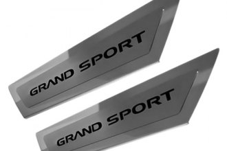 ACC® - Stainless Steel Outer Door Sills with Grand Sport Logo
