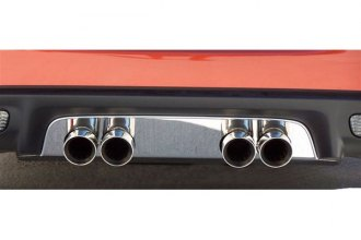 ACC® 042001 - Polished Stainless Steel Exhaust Filler Panel for Stock Tips