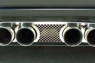 ACC® 042009 - Laser Mesh Stainless Steel Exhaust Filler Panel for Corsa 3.5-Inch Tips