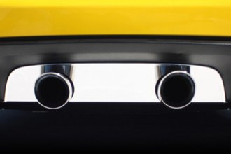 American Car Craft® - Plain Polished Exhaust Filler Panel