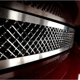 ACC® - 1-Pc Polished Laser Mesh Bumper Grille